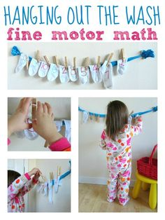 Although we do have time for flashcards at Teach My, here is an adorable math and fine motor skills matching game from the blog, 'No Time For Flashcards'! http://www.notimeforflashcards.com/2013/03/hanging-out-the-wash-math-fine-motor.html