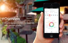 Home Page from Spendee › PatternTap / beautiful way to display app features