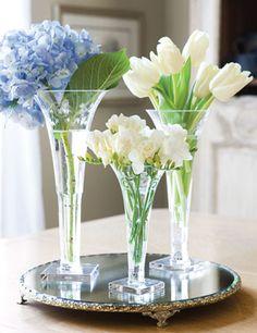 The best flower arrangements are always in Victoria Magazine.