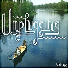 Turn off, tune in, take part. #Unplugging. #Giving #SummerofDoing  Typography by @Dan Cassaro.