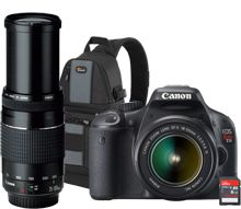 Canon T2i SLR camera with zoom lens - REALLY considering this one!