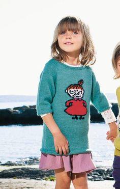 pikku Myy -tunika Knitting For Kids, Knit Crochet, Ganchillo