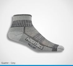 The Merino Stride sock is perfect for long distance walking and is made with a breathable mesh panel.