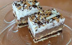 Bezlepkové kinder rezy - recept | Varecha.sk Nutella, Tiramisu, Ethnic Recipes, Food, Basket, Essen, Meals, Tiramisu Cake, Yemek