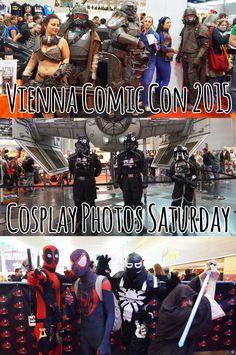 Vienna Comic Con - Cosplay Photos Saturday Comic Con Cosplay, Just Don, Vienna, Your Photos, Glitter, Comics, Movie Posters, Film Poster, Cartoons
