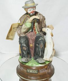 EMMETT KELLY JR. MUSICAL SIGNED CLOWN FIGURINE AUTOGRAPH PRINCE PANTOMINE RARE    Seller information  justinsublime (1771  )    99.9%Positive feedback  Save this seller  See other items     AdChoice  Item condition:Used  Time left: 6d 05h (Apr 28, 2013 18:08:45 PDT)  Current bid:US $7.77  [1 bid ]