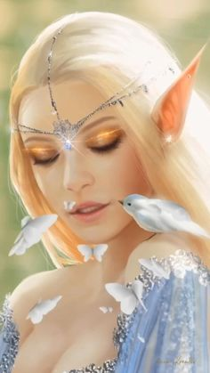 Beautiful Women Videos, Beautiful Love Pictures, Beautiful Gif, Beautiful Fairies, Dream Fantasy, Beautiful Fantasy Art, Fantasy Hair, Fantasy Movies, Beautiful Rose Flowers