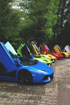Lamborghini Aventador Rainbow