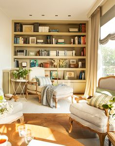 Bookshelf Design 2020 – What is the standard size of a bookshelf? - Home Ideas Home, Bookshelf Design, House Interior, Apartment Decor, Home Deco, Lounge Room Design, Interior Design Living Room, Interior Design, Home And Living