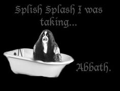 black metal - taking 'a bath' XD Black Metal, Rock Y Metal, Music Humor, Music Memes, Death Metal, Metal Meme, Tenacious D, Bobby Darin, Tin Whistle