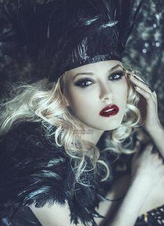 Photoshop Actions: Snow White + Dark + XOXOX (Brand New in Love & Romance Collection) @ www.amandadiaz.com/store