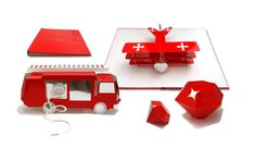 Red or Dead Pop-up book by Benja Harney, via Behance