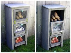 Vegetable Bin Cupboard