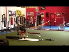 Hockey Goalie working with Stroops, ViPR, and Slide Board! More video to...