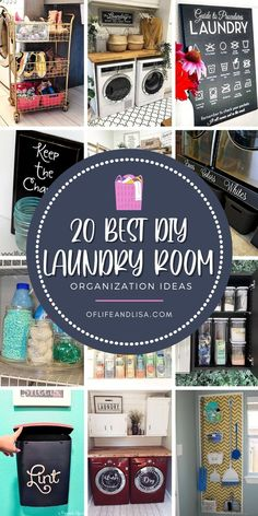 Get your laundry room super organized with these creative DIY ideas. #laundryroom #laundryroomdecor #organization #homedecor #decor #decorideas #diy #diydecor #diyorganization Home Organization Hacks, Laundry Room Organization, Organizing Your Home, Organising Tips, Laundry Rooms, Organizing Ideas, Cleaning Painted Walls, Simple Life Hacks, Organize Your Life