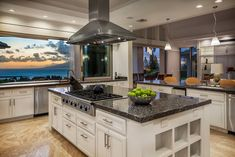 """1,326 Likes, 52 Comments - Luxury Real Estate & Travels (@highclasshomes) on Instagram: """"Love this kitchen/view 