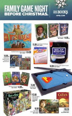 Half Price Books Black Friday 2018 Ads and Deals Browse the Half Price Books Black Friday 2018 ad scan and the complete product by product sales listing. Seinfeld Festivus, Black Friday 2017 Ads, Family Game Night, Price Book, Half Price, Used Books, Before Christmas, Board Games, Coupons