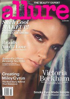 """Victoria Beckham: Victoria Beckham ziert das Cover der aktuellen Ausgabe des Magazins """"Allure""""."""