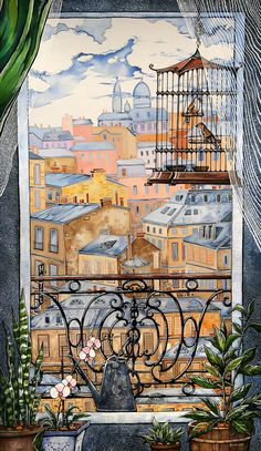 Каминская Мария. Окно