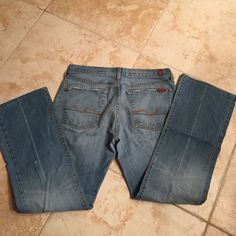SEVEN FOR ALL MANKIND JEROME DAHAN JEANS SZ 29 Vintage. Perfect condition Seven for all mankind Jeans Flare & Wide Leg