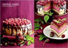 smakuj smaki - przepisy i fotografia kulinarna: Tort czekoladowo-malinowy Cake, Desserts, Pie Cake, Cakes, Deserts, Dessert, Postres, Cookies, Cheeseburger Paradise Pie