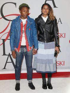 Helen Lasichanh et Pharrell Williams