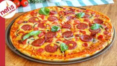 Good Pizza, Pizza Pizza, Middle Eastern Recipes, Turkish Recipes, Iftar, Deep Dish, Pepperoni, Pizza Recipes, Vegetable Pizza
