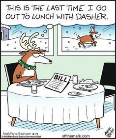 15 Christmas Comic Strips By Off The Mark That Are Too Funny To Miss - World's largest collection of cat memes and other animals Funny Christmas Pictures, Funny Christmas Cards, Christmas Humor, Christmas Fun, Holiday Fun, Funny Pictures, Xmas, Funny Christmas Cartoons, Christmas Doodles