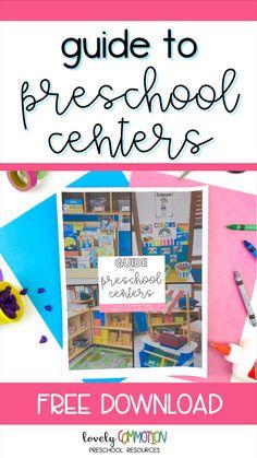Preschool Centers, Preschool Kindergarten, Preschool Ideas, Play Based Learning, Learning Centers, Pre K Activities, Preschool Special Education, Classroom Setting, Pre School
