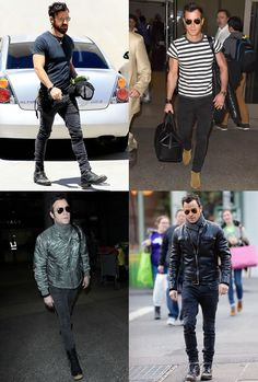 Justin Theroux Outfits