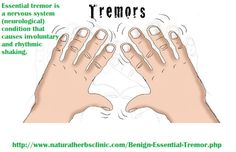 At the point when the symptoms are adequately severe to avoid typical exercises and reduce value of life, Herbal Treatment for Benign Essential Tremor can be extremely helpful to enhance or even remove the tremors. Tremors Hand, Essential Tremors, Cognitive Therapy, Benefits Of Organic Food, Epilepsy Awareness, Healthy Herbs, Medical Information, Home Remedies