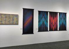 Polly Barton and Jennifer Moore, fiber artists