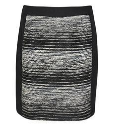 MARCS | Skirts - OMBRE TWEED PANEL DETAIL PENCIL SKIRT