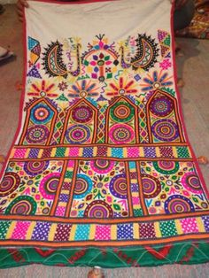ETHNIC KUTCH RABARI BANJARA GYPSY TRIBE TRADITIONAL MIRROR EMBROIDERY BAG