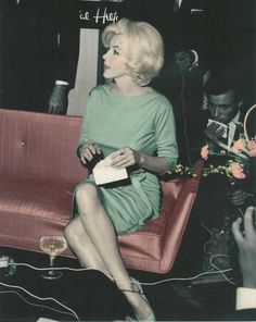 Marilyn Monroe photographed during her visit in Mexico, 1962.