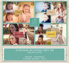 ATP. Color Actions SET 10 by AllThingsPrecious.deviantart.com on @DeviantArt