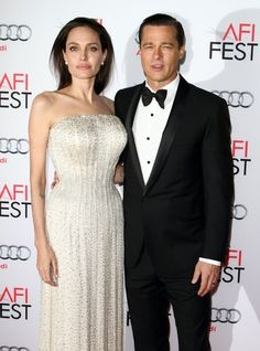 Angelina Jolie Photos Photos - AFI FEST 2015 Opening Gala BY THE SEA Premiere held atThe TCK Chinese Theatre in Hollywood, California on 11/5/15<br /> Brad Pitt, Angelina Jolie - Angelina Jolie Has Filed for Divorce From Brad Pitt