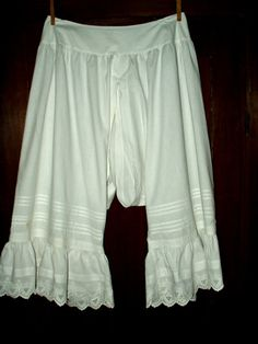 Under Garments Of The Victorian Era _ The Pantaloons.  Price $50.00