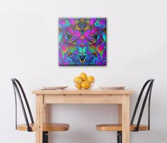 SOLD Acrylic Wall Art Floral Fractal  https://www.zazzle.com/acrylic_wall_art_floral_fractal_art-256115196550685058 #Zazzle #Acrylic #Wall #Art #Floral #Fractal #fractalart #home #homedecor #walldecor #lotus #abstract #purple #blue
