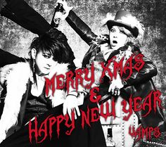 Merry Xmas & Happy New Year! #VAMPS #HYDE #KAZ #2016