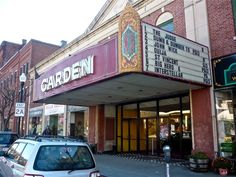 Old time Garden Cinemas in Greenfield MA: http://visitingnewengland.com/downtown-greenfield-ma-new-england.html