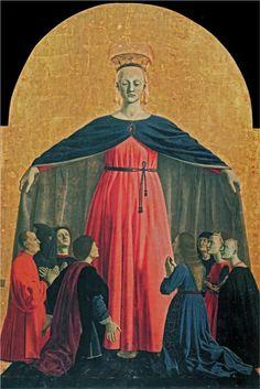 The Madonna of Mercy, 1445Piero della Francesca