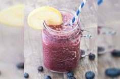 Apple Blueberry Lemon Smoothie from French Toast, Cheesecake, Salad, and 20 Other Recipes to Make With Berries