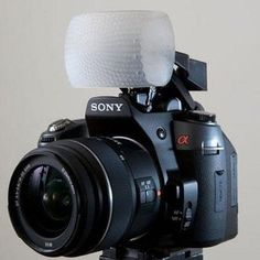 Gary Fong Puffer Pop Up Flash Diffuser For Sony & Minolta Cameras. Want it? Own it? Add it to your profile on unioncy.com #gadgtes #tech #electronics