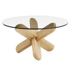 Stůl Ding 40 cm, dřevěný