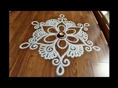 Attractive Free hand rangoli designs by Shital Daga Sanskar Bharti Rangoli Designs, Kolam Rangoli, Flower Rangoli, Indian Rangoli, Easy Rangoli, Simple Rangoli Designs Images, Colorful Rangoli Designs, Rangoli Designs Diwali, Beautiful Rangoli Designs