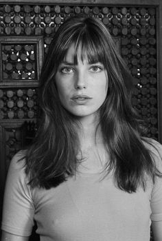 Jane Birkin bangs