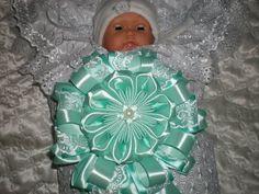 Бант для новорожденных своими руками. / Bow ribbons / DIY Tutorial - YouTube