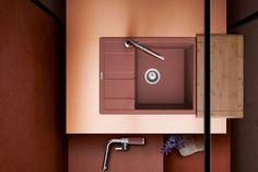 Schock Ronda Gránit Mosogató 650 x 500 mm Canyon Cristalite Decor, Wall, Wall Lights, Light, Lighting, Door Handles, Home Decor