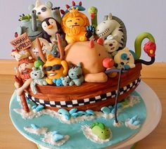 DIY fondant shaping for beginners. Not sure you can achieve Noah's Ark but let's try!